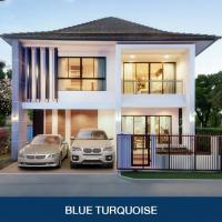 BLUE LAGOON 2 ติดถนนวงแหวน - บางนา ใกล้เมกาบางนา เปิดจองบ้านหรูตกแต่งครบทั้งหลัง ราคาพิเศษเพียง 11.01 ล้านบาท*