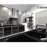 Cabin มิติใหม่ในการแต่งครัวสไตล์ลอฟท์ ที่โฮมโปร