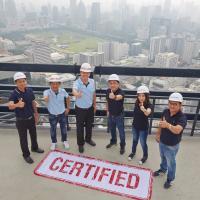 อนันดาฯ ตรวจคุณภาพงานก่อสร้าง โครงการ แอชตัน จุฬา-สีลม