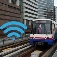 รถไฟฟ้าบีทีเอส มอบของขวัญปีใหม่คนกรุงเปิดบริการฟรีอินเตอร์เน็ต 30 สถานี
