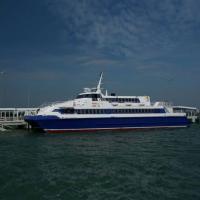 เรือเล็กงดออกจากฝั่ง เจ้าท่าประกาศเลื่อนเปิดตัวเดินเรือเฟอรี่ พัทยา-หัวหิน ส่วนเมล์NGVวิ่งก.พ.