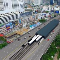 คมนาคมไฟเขียว BTS ปรับปรุงสถานีรถไฟฟ้าสะพานตากสินแก้คอขวด