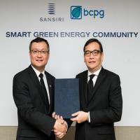 แสนสิริ-บีซีพีจี ลงนาม MOU เปิดตัวโฉมใหม่การผลิตและใช้ไฟฟ้าจากพลังงานทดแทนครั้งแรกในไทย