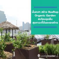 มั่นคงฯ สร้าง Rooftop Organic Garden ชวนพนักงานเพิ่มพื้นที่สีเขียว ปลูกผักอินทรีย์สะท้อนจุดยืน สุขภาวะที่ดี ขององค์กร