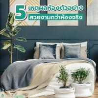 5 เหตุผล ห้องตัวอย่างสวยงามกว่าห้องจริง