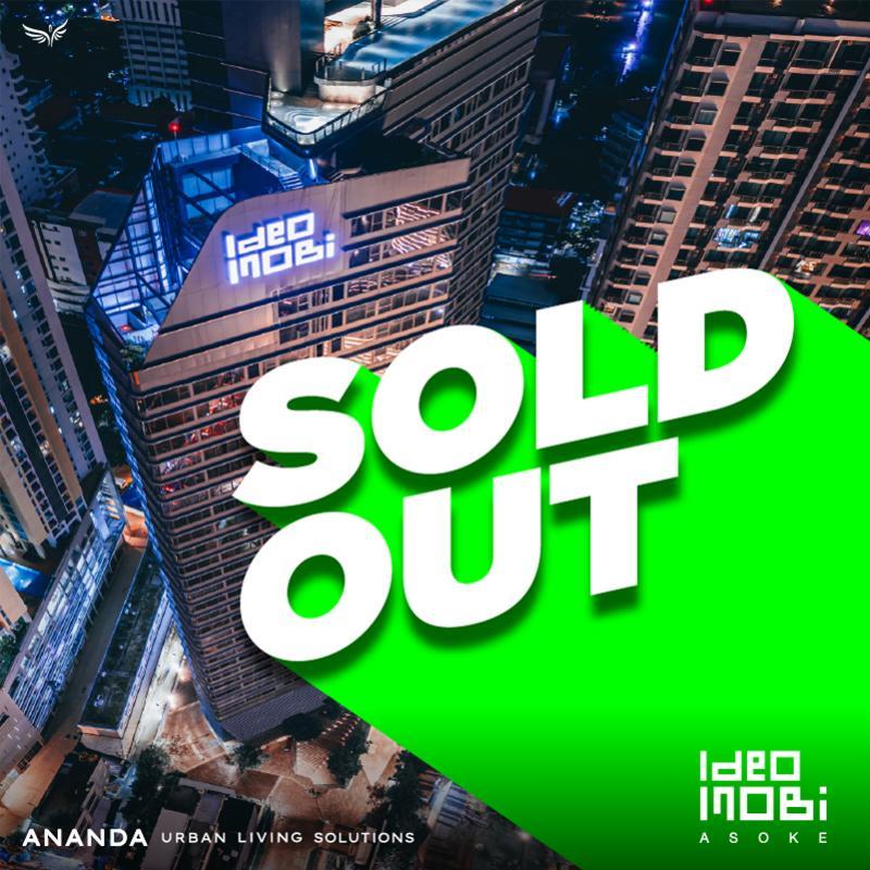 """อนันดาฯ ประกาศความสำเร็จโครงการ ไอดีโอ โมบิ อโศก """"Sold Out"""""""