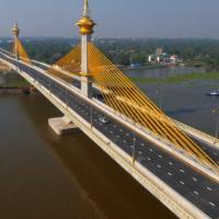 ปิดสะพานมหาเจษฎาบดินฯ คืนวันเสาร์ที่ 10 ก.พ. 4 ทุ่ม ถึงตี 5 ทดสอบรับน้ำหนักบรรทุก