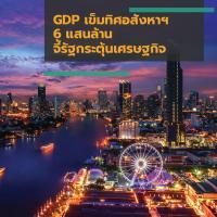 GDP เข็มทิศอสังหาฯ 6 แสนล้าน จี้รัฐกระตุ้นเศรษฐกิจ