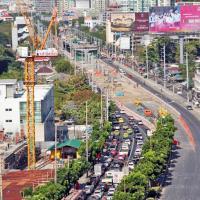 รฟม.ช่วยบรรเทาฝุ่นละอองหยุดสร้างรถไฟฟ้าถึง 22 ม.ค. ฟรีค่าจอดรถ MRT-สายสีม่วง