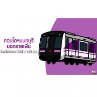 คอนโดฯนนทบุรียอดขายเพิ่ม รับเปิดเดินรถไฟฟ้าสายสีม่วง