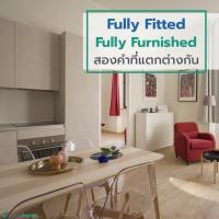 Fully Fitted กับ Fully Furnished สองคำที่แตกต่างกัน