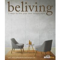 HomePro แนะนำ แคตตาล็อกใหม่ Beliving ปี 2017 ชูคอนเซ็ปต์  แต่งบ้านสวย 2 สไตล์