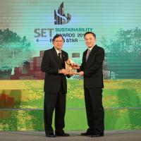 โฮมโปร คว้ารางวัล SET Sustainability Awards 2016 บริษัทจดทะเบียนต้นแบบแห่งความยั่งยืน