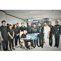 เดอะคิวบ์ คอนโดมิเนียม ร่วมกับช่อง One31 มอบเสื้อให้ทหารแห่งกองทัพไทย
