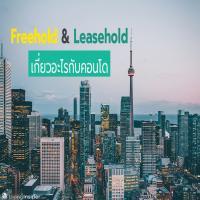 Freehold & Leasehold เกี่ยวอะไรกับคอนโด