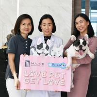 MJD จับมือรพ.สัตว์ทองหล่อ ส่ง LOVE PET GET LOVE