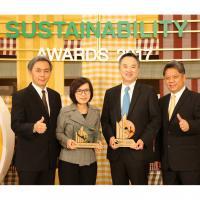 โฮมโปร คว้า 2 รางวัล ด้านความยั่งยืน SET Sustainability Awards 2017