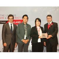 ออริจิ้น รับรางวัล Top 10 Developer จาก BCI Asia Awards
