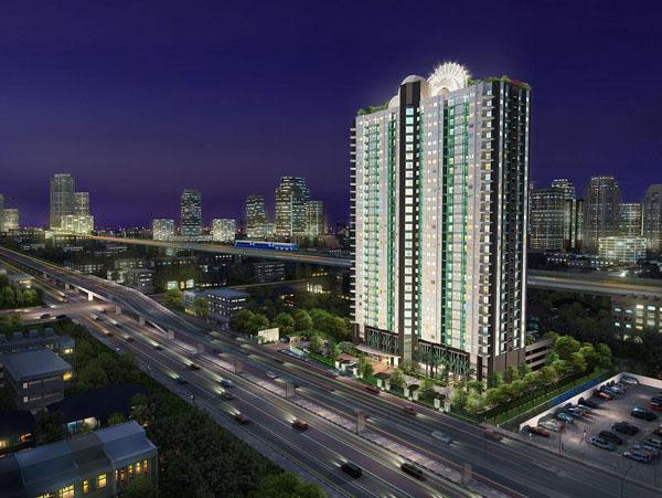 เช่าคอนโดพระราม 9 เพชรบุรีตัดใหม่ : ห้องไม่เคยอยู่ ไม่เคยเช่ามาก่อน!!ให้เช่าคอนโด Supalai Park Asoke-Ratchada Size 75 sqm(2Bedroom), ห้องมุม fully furnished, ในราคา 23,000 บาท/เดือน