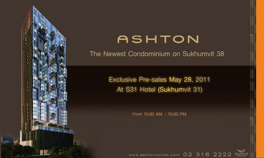 Urgent Sales!! Ashton 38 2 Br. 74.25 sqm. 14.5 MB