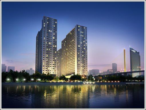 ขายคอนโดราษฏร์บูรณะ สุขสวัสดิ์ : ขายห้อง วิวแม่น้ำ 2.19 ล้าน