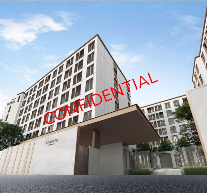 Sale DownCondoSukhumvit, Asoke, Thonglor : Chapter Thonglor 25  1 bedroom, size 35 sqm., Garden view, South