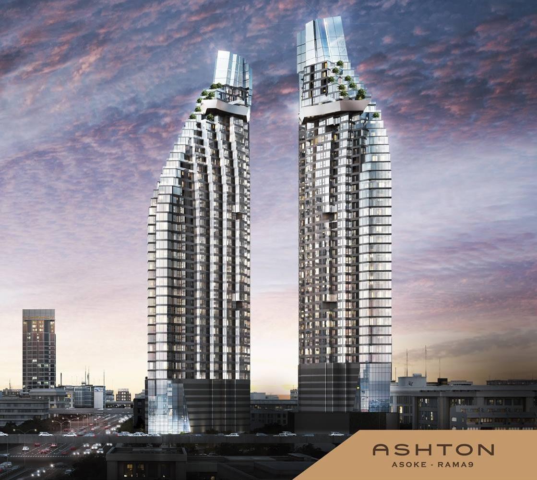ขายคอนโดพระราม 9 เพชรบุรีตัดใหม่ : (Foreiner Quota) ขายดาวน์ Ashton Asoke-Rama9 ขนาด 1 Bedroom ตึก Omega ชั้นสูง