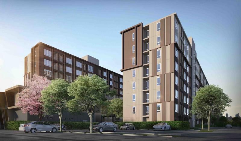 ขายใบจอง ดีคอนโด แคมปัส กำแพงแสนของแสนสิริ ห้อง 020119 อาคาร B ชั้น 1, 010113, 010114 (ห้องมุม) อาคาร A ชั้น 1
