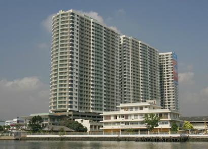 For RentCondoRama3 (Riverside),Satupadit : Comblined unit for 3 Bed @ LPN Place Narathiwas C.TEL. 0655203789