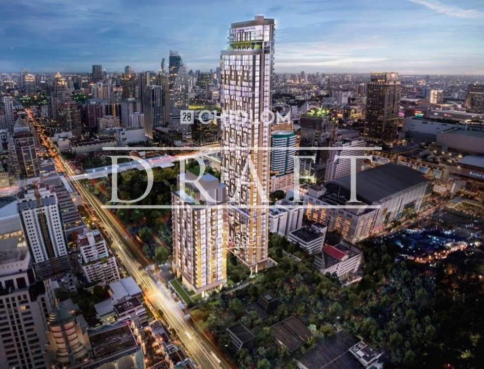 For SaleCondoWitthayu,Ploenchit  ,Langsuan : Super Luxury Condo 28 Chidlom 2 Bed 2 bed Size: 72.72 sq.m. Sell Price: 21,355,180 MB