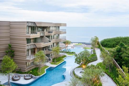 For SaleCondoCha-am Phetchaburi : Condo Baan San Ngam for sale 2 bedrooms sea view 7.8 mil baht