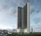 Sale DownCondoBangna, Lasalle, Bearing : Sale down payment, good location, good location, cheaper price than Nue Noble Srinakarin-Lasalle project. Location of the future