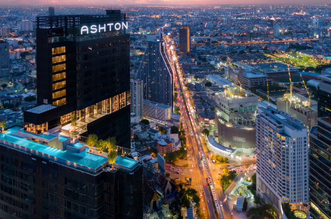 For SaleCondoSiam Paragon ,Chulalongkorn,Samyan : Urgent sale !! Ashton Chula, Silom stu, large room, ready to move in, beautiful view, price 6.39 million