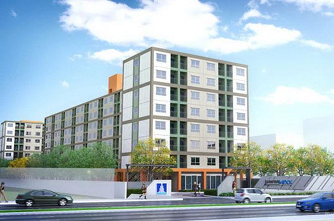 For RentCondoSamrong, Samut Prakan : Condo for rent, Lumpini Mixx Thepharak Samut Prakan #Bangna Condo for rent Contact ID:0955427604