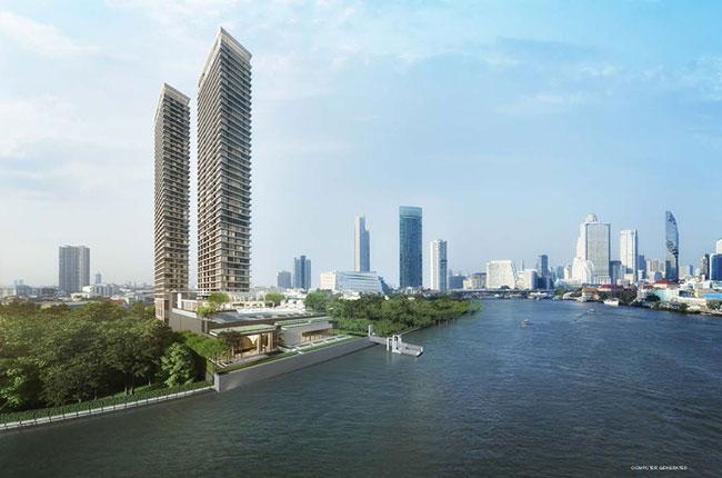 ขายคอนโดวงเวียนใหญ่ เจริญนคร : ขาย แชปเตอร์ เจริญนคร- ริเวอร์ไซด์ ส่วนลด700,000 ห้อง Riverfront ตึก A ชั้นสูง ตำแหน่ง 01 ขนาด
