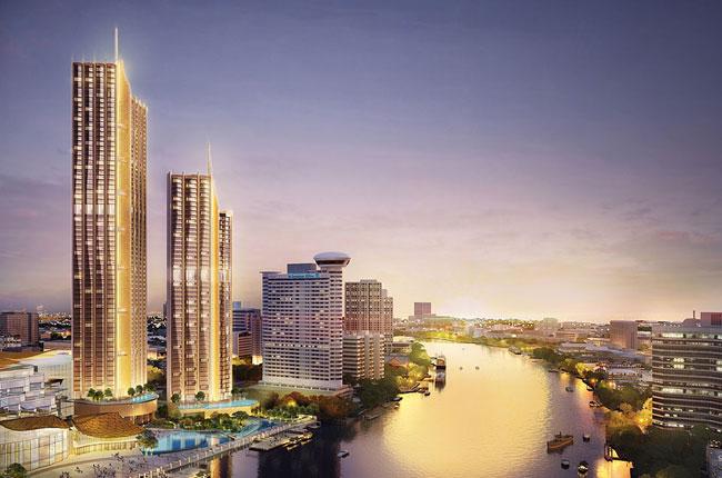 """ขายคอนโดวงเวียนใหญ่ เจริญนคร : Sell """"Magnolias Waterfront Residences at Icon Siam"""" 3 bed 43,000,000mb"""