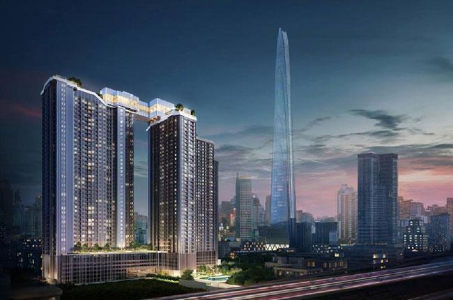 ขายดาวน์คอนโดพระราม 9 เพชรบุรีตัดใหม่ : Life Asoke-Rama 9  1 Bedroom  32 ตร.ม. *ขายขาดทุน*