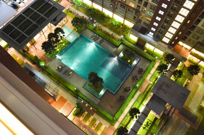 For RentCondoKasetsart, Ratchayothin : (Rent) Condo Lumpini Place Ratchayothin buildind  C , 18  floor ,  fully furnished , city view.
