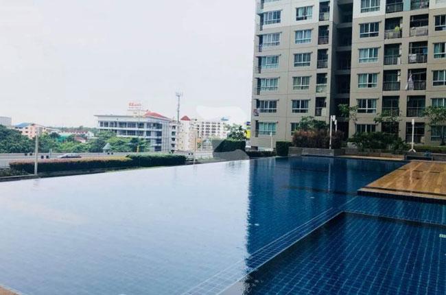 For RentCondoChengwatana, Muangthong : Condo for rent Lumpini Ville. Chaengwattana-Pakkred large room at Pak Kret Intersection