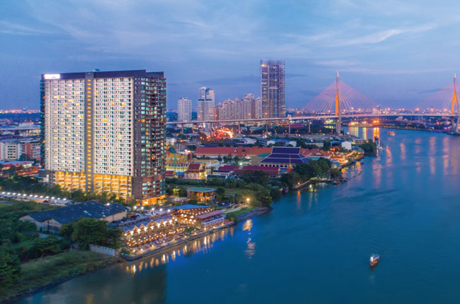 For RentCondoRama3 (Riverside),Satupadit : Condo for rent, U Delight Residence Riverfront Rama 3, 24th floor, beautiful room, ready to move in, river view, price only 12,000 baht