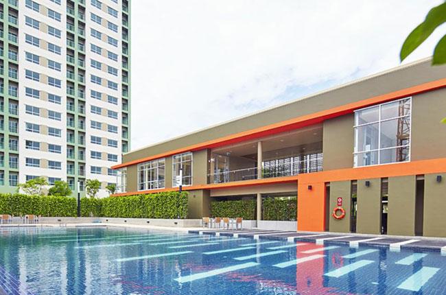 เช่าคอนโดบางแค เพชรเกษม : LPN Park Phetkasem 98 condo, 1 Bedroom for rent.Fully furnished, ready to move at 6,000THB/Month.Contact K. Urai อุไร 086-604-3630