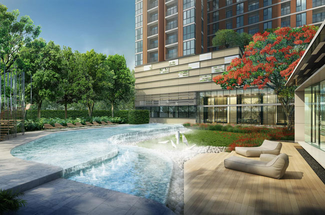 For SaleCondoRama9, RCA, Petchaburi : Urgent sell / rent the base garden, Rama 9, special price