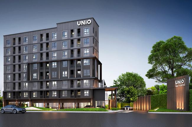 For RentCondoRamkhamhaeng Nida, Seri Thai : room for rent at UNIO Ramkhamhaeng - Seri Thai