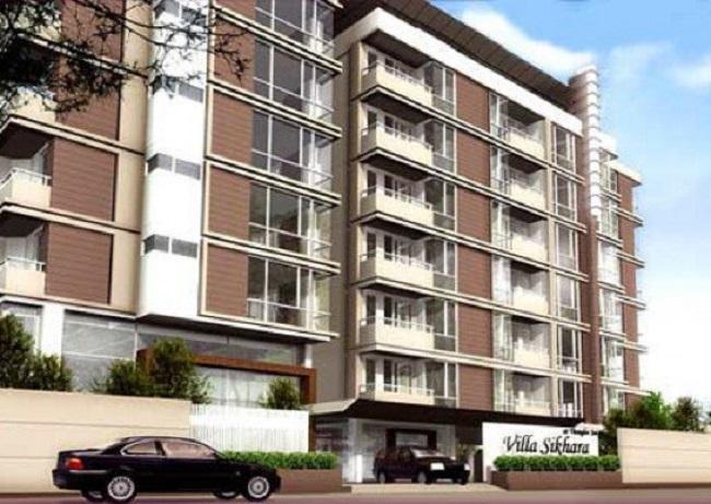 เช่าคอนโดสุขุมวิท อโศก ทองหล่อ : รีบคว้าด่วน!! Villa Sikhara Condominium Thonglor 25 ขนาด 98 ตรม.  เฟอร์ครบ พร้อมอยู่