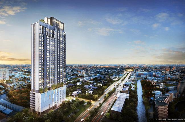 For SaleCondoRangsit, Patumtani : Find the preemption order Modiz launch Thammasat room 1bedroom Floor 13-16, studio16-20