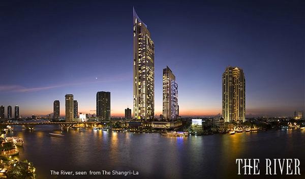 ขายคอนโดวงเวียนใหญ่ เจริญนคร : The River 2 Bed Area : 80 Sq.m.  Price 12,900,000 MB. ⚡Tel/ Line : 0990950009