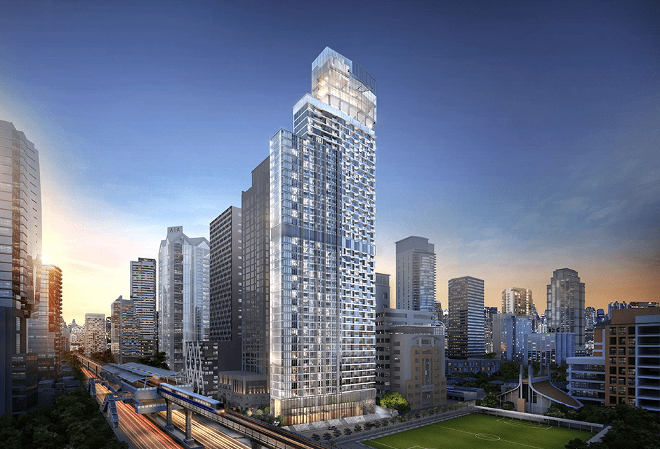 The Line sathorn - Hi floor, position 08, competitive price