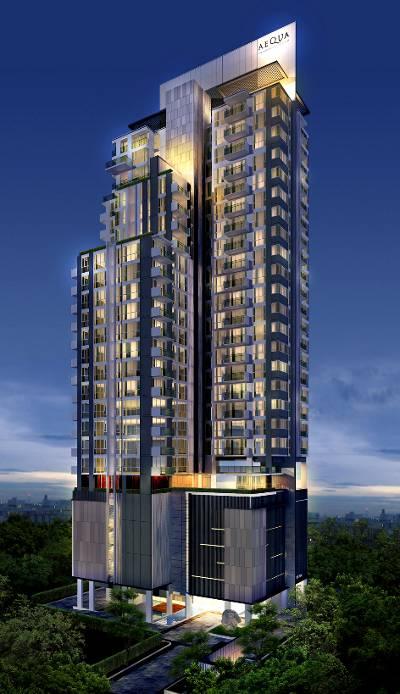 ขายคอนโด Aequa Residence สุขุมวิท 49 พร้อมผู้เช่า Yield 6%