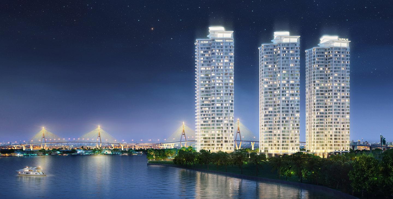 ขายด่วนก่อนโอน!!!ขายคอนโด Supalai Riva Grand Rama 3 Size99.5sqm(2Bedroom/2Bathroom) วิวเเม่น้ำ  ในาคาตรมละ 94,xxx เท่านั้น