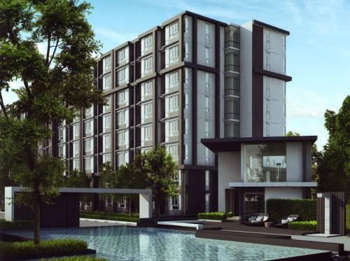 ขายคอนโดพัฒนาการ ศรีนครินทร์ : ห้องใหม่มาก อาคารB ชั้น8 วิวดี
